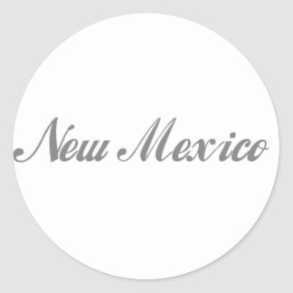 New Mexico Gifts Classic Round Sticker