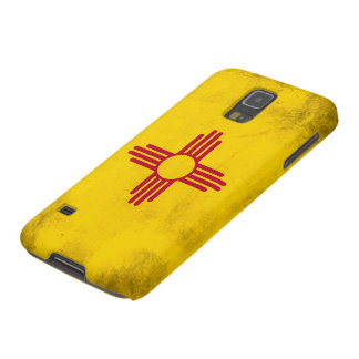 New Mexico Grunge- Zia Sun Symbol Galaxy S5 Covers