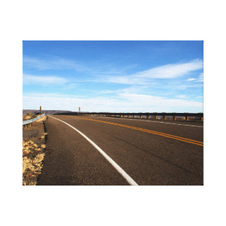 New Mexico Highway Canvas Print