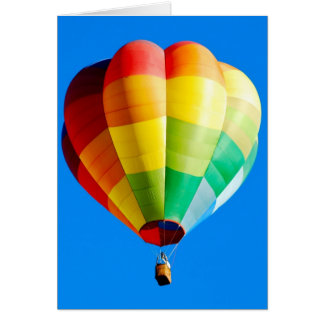 New Mexico Hot Air Balloon Fiesta Photo Note Card