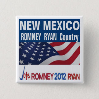 NEW MEXICO is Romney Ryan Country Button