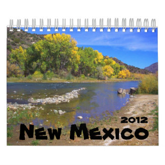 New Mexico Landscape 2012 Wall Calendar
