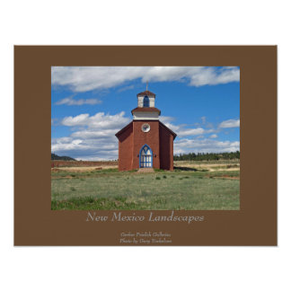 New Mexico Landscape Poster