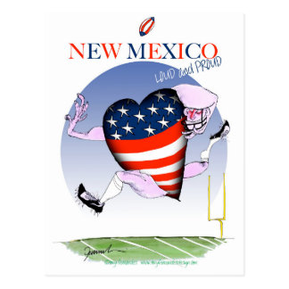 new mexico loud and proud, tony fernandes postcard