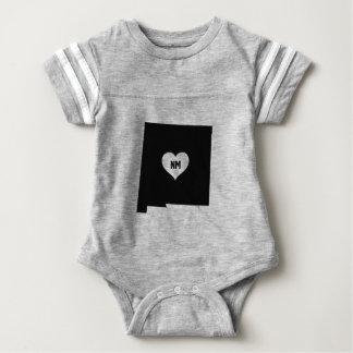 New Mexico Love Baby Bodysuit