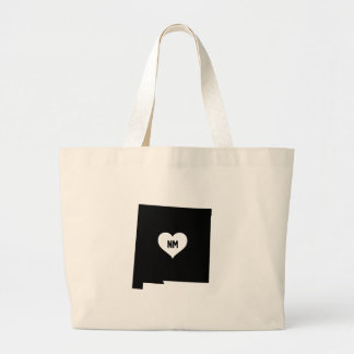 New Mexico Love Large Tote Bag