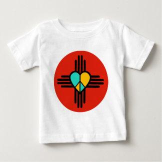 New Mexico, Love, Peace Baby T-Shirt