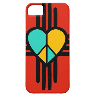 New Mexico, Love, Peace iPhone 5 Covers