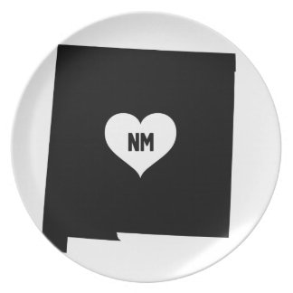 New Mexico Love Plate