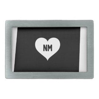 New Mexico Love Rectangular Belt Buckle