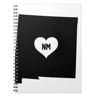 New Mexico Love Spiral Notebook