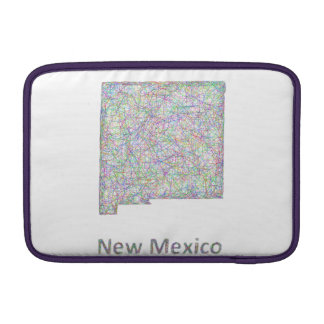 New Mexico map Sleeve For MacBook Air