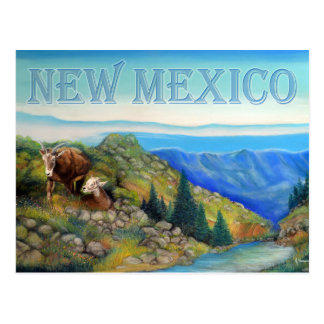 New Mexico Mountain Sheep Wildlife Postcard