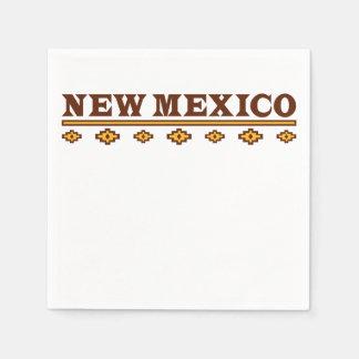 New Mexico Native Pattern Paper Napkin
