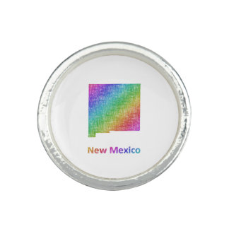 New Mexico Photo Ring