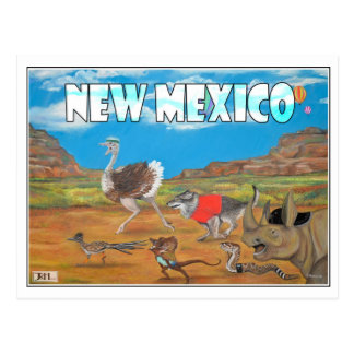 "New Mexico Postcard ""We miss you..."" by Jessica H."