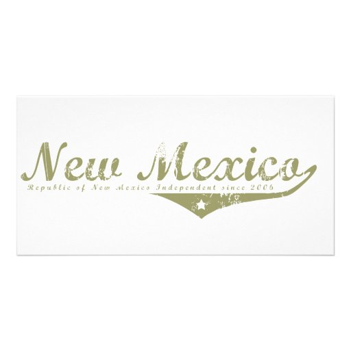 New Mexico Revolution T-shirts Customized Photo Card
