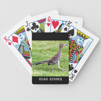 New Mexico Roadrunner Bicycle Playing Cards
