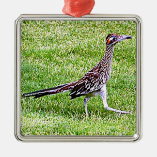 New Mexico roadrunner Metal Ornament