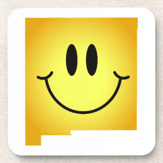 New Mexico Smiley Face Beverage Coasters