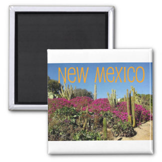New Mexico Square Magnet
