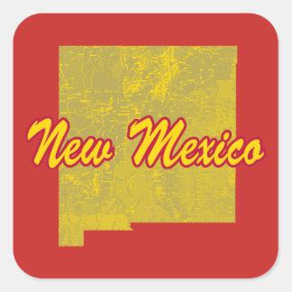 New Mexico Square Sticker