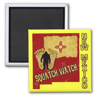 New Mexico Squatch Watch Magnet