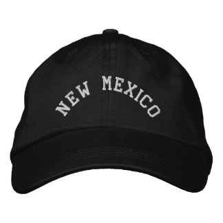 New Mexico State Embroidered Embroidered Hat