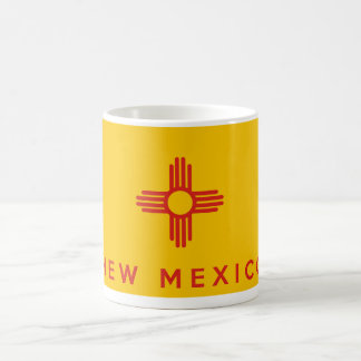 new mexico state flag america country text name coffee mug