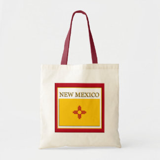 New Mexico State Flag Design Budget Canvas Bag