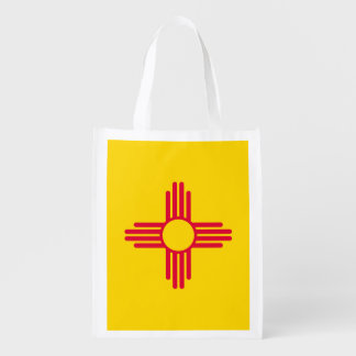 New Mexico State Flag Design Market Tote