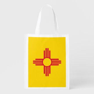 New Mexico State Flag Design Market Tote