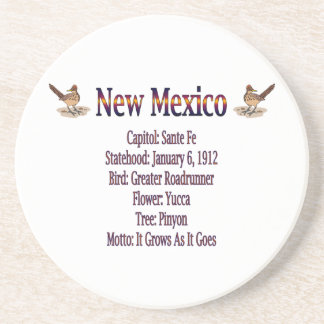 New Mexico State Info Coaster