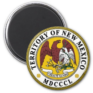 New Mexico State Seal 2 Inch Round Magnet