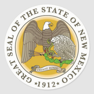 New Mexico State Seal Sticker