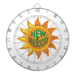 New Mexico sun Dartboard
