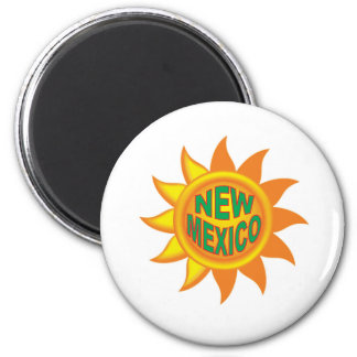 New Mexico sun Magnet
