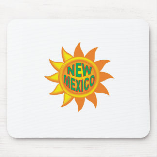 New Mexico sun Mouse Pad