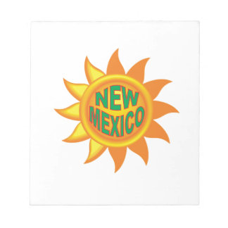 New Mexico sun Notepad