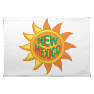 New Mexico sun Placemat