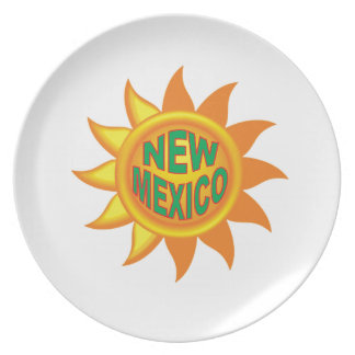 New Mexico sun Plate