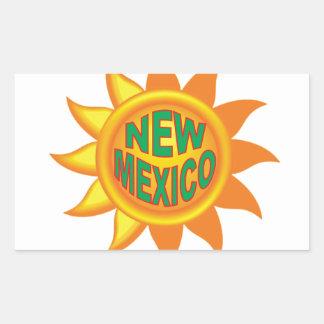 New Mexico sun Sticker