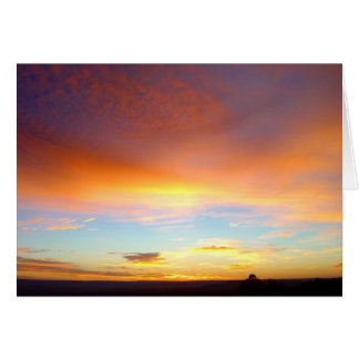 New Mexico Sunrise - Inspirational Card