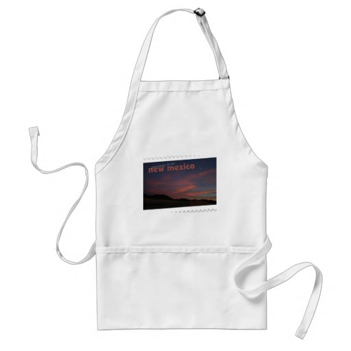 New Mexico sunset Aprons