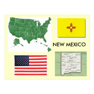 New Mexico, USA Postcard