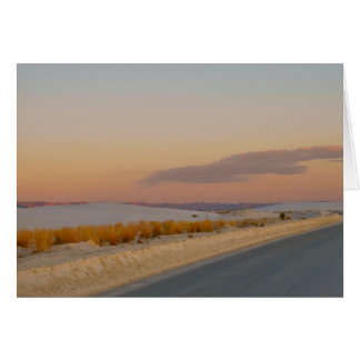 New Mexico White Sands National Monument Note Card