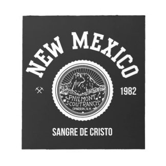 New Mexico (white ver.) Notepad