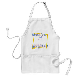 New Mexico - Wild and Crazy Standard Apron