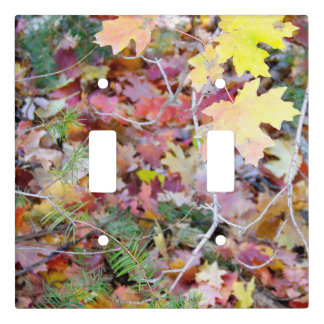 New Mexico Wild Maples Double Light Switch Cover