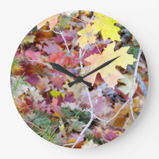 New Mexico Wild Maples Wall Clock